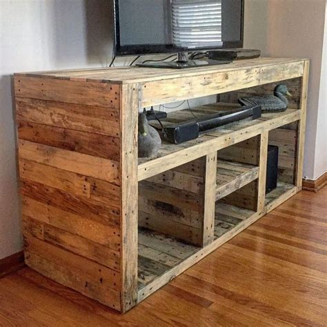 Tv Stand Building Plans Easy