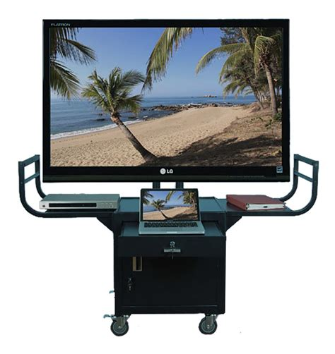 Tv Stand Cart With Handles
