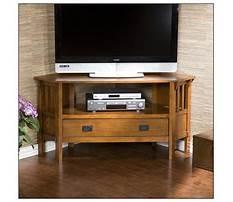 Best Tv corner cabinet oak