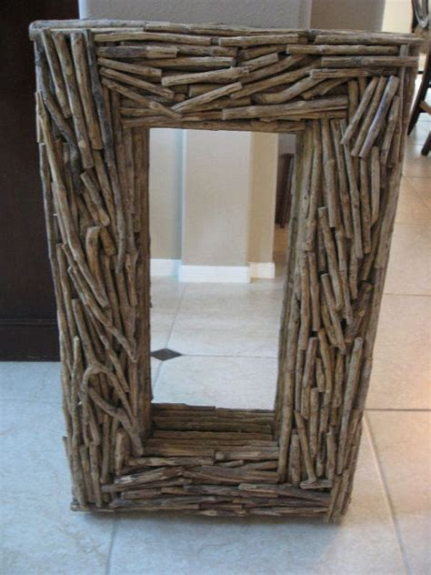 Twig Mirror Frame Diy Ideas