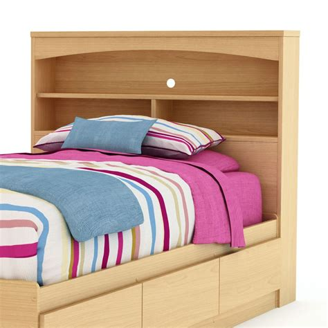 Twin Bed Bookshelf Headboard Plans