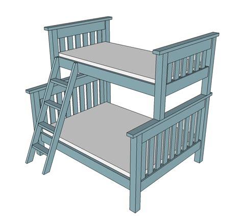 Twin Bunk Bed Plans Pdf