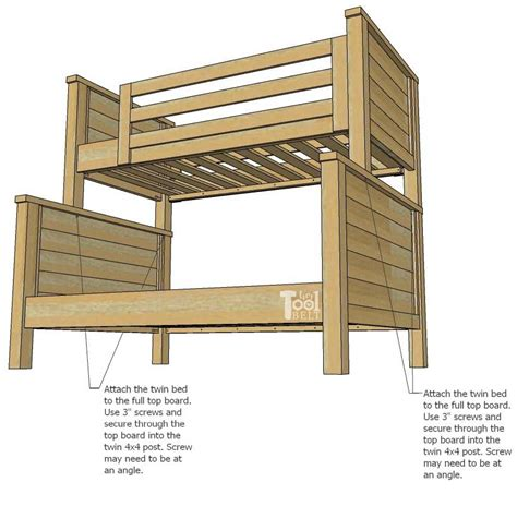 Twin Loft Bed Plans Diy Tool