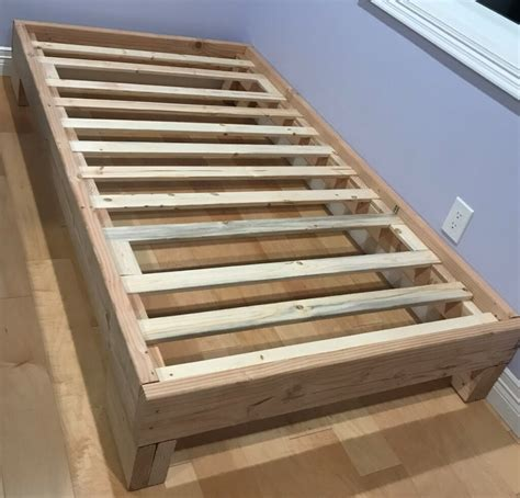 Twin Pedestal Bed Plans