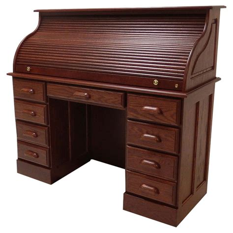 Twin Pedestal Roll Top Desk Plans