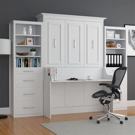 Twin Wall Bed With Desk