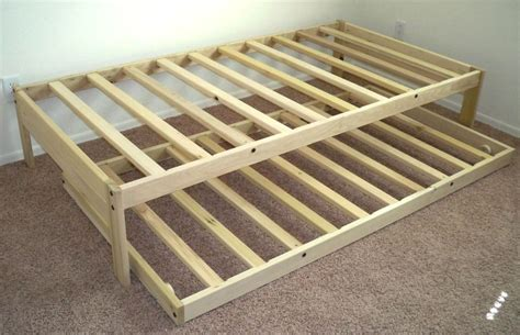 Twin Xl Trundle Bed Frame Plans