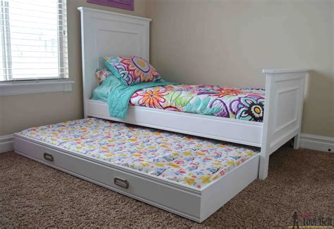 Twin-Bed-With-Trundle-Plans