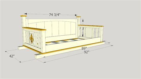 Twin-Mattress-Porch-Swing-Plans