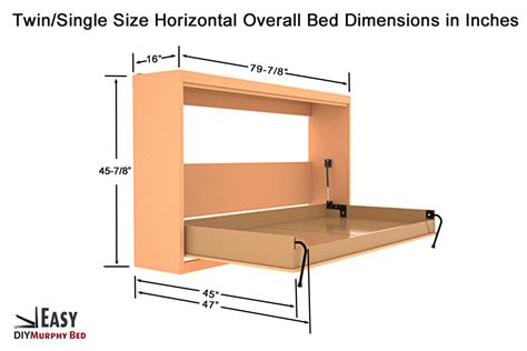 Twin-Size-Murphy-Bed-Plans-Free