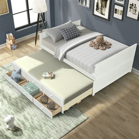 Twin-Size-Trundle-Bed-Plans