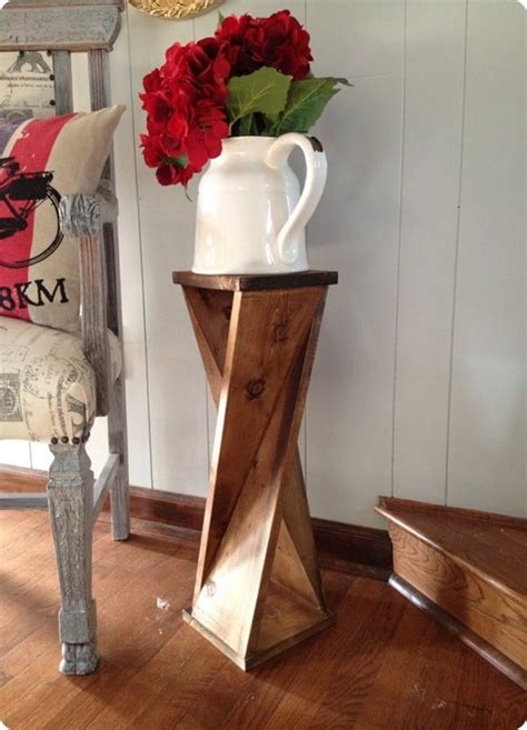 Twisted Wood End Table Diy Projects