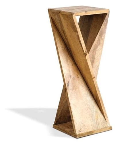 Twisted-Wood-Side-Table-Plans