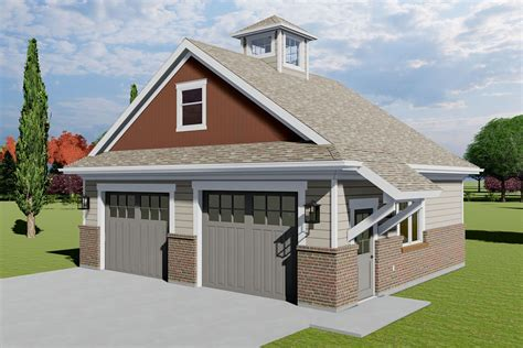 Two Car Garage Plans With Bonus Room