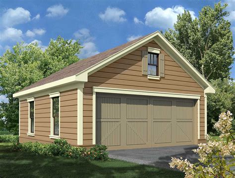 Two Car Garage Plans With Workshop