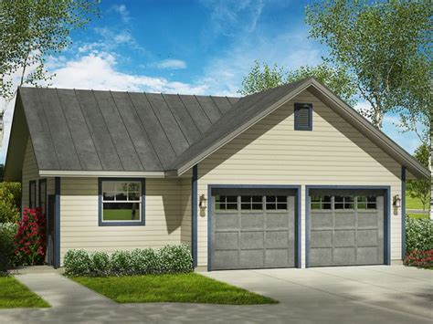 Two Car Garage With Shop Plans