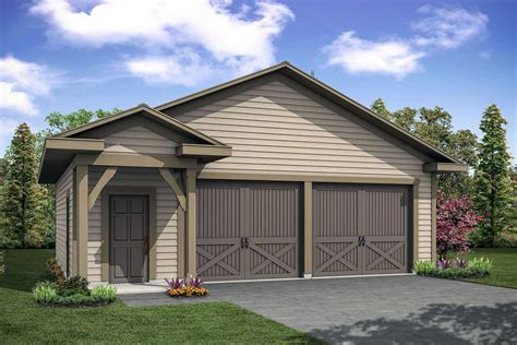 Two Story Detached Garage House Plans