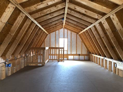 Two Story Gambrel Roof Shed Plans