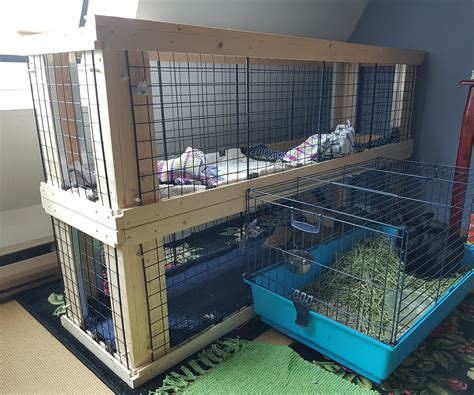 Two Story Indoor Diy Rabbit House