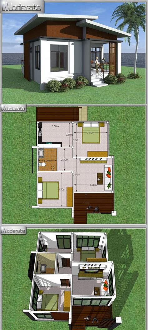 Two Story One Bedroom House Plans