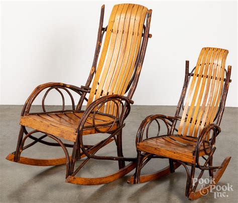 Two-Adirondack-Rocking-Chairs-Png
