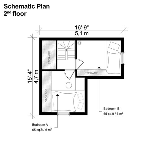 Two-Bedroom-With-Two-Loft-Tiny-House-Floor-Plans