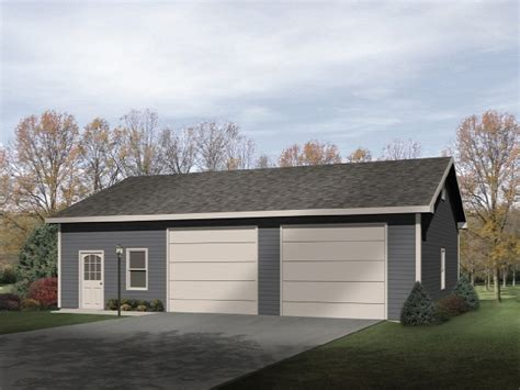 Two-Car-Garage-With-Shop-Plans