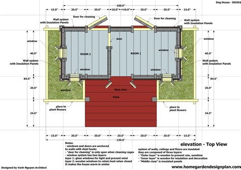 Two-Dog-Dog-House-Plans-Free