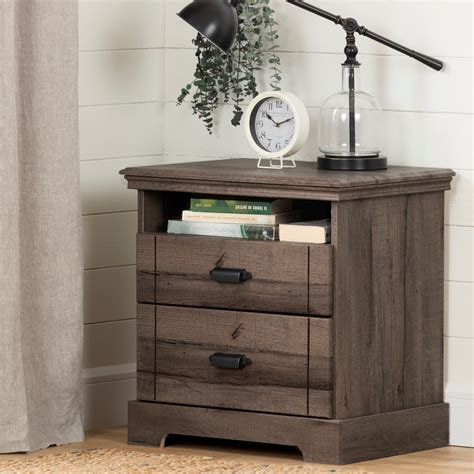 Two-Drawer-Nightstand-Plans