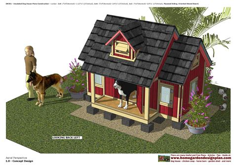 Two-Room-Insulated-Dog-House-Plans
