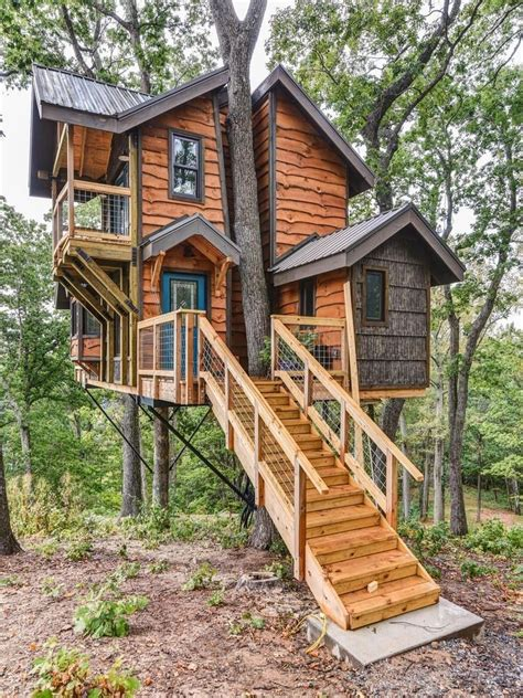 Two-Story-Treehouse-Plans
