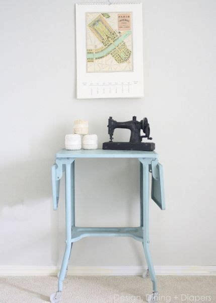 Typewriter Table Diy With Shelf