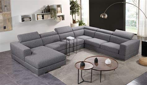 U Shaped Couch With Recliner