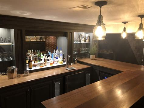 U-Shaped-Home-Bar-Plans