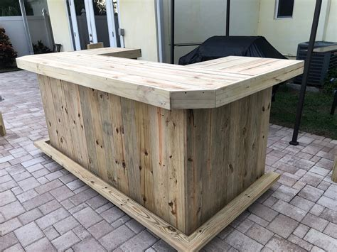 U-Shaped-Outdoor-Bar-Plans