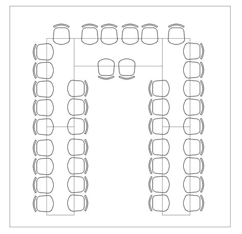 U-Shaped-Table-Plan-Template