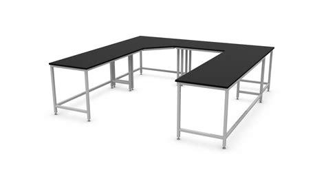 U-Shaped-Workbench-Plans