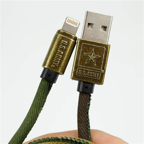 US ARMY Camo Lightning 6 Ft Cable