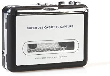 USB Cassette Player Mc Digitizer, Mp3 Player, Pc Recorder Walkman, Digitize Your Rare Comfortably on Your Pc, Music