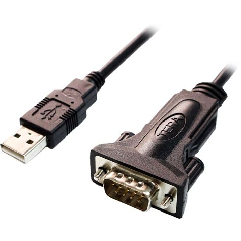 USB to DB9 RS-232 Adapter Cable (6') - Polebright update