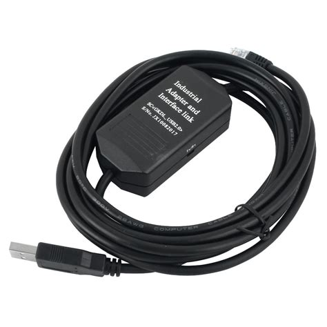 Ugtell USB-KV Touch Screen PLC Programming Cable Black 9.5 Ft for Keyence KV 16 1000