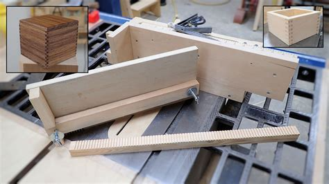 Ultimate Box Joint Jig Plans
