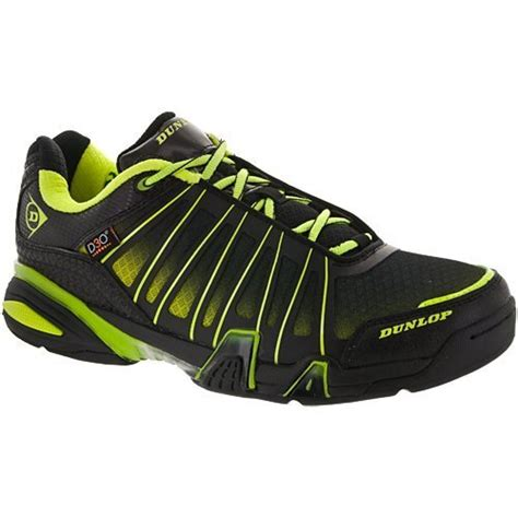 Ultimate Tour Indoor Men's Racquetball/Squash Court Shoe (Black/Green) (Non-Marking)