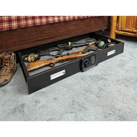 Under Bed Gun Safe Diy Hamster