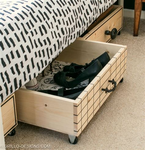 Under Bed Storage Box Diy