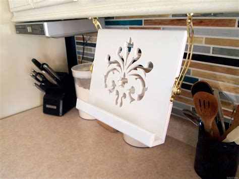 Under Cabinet Cookbook Holder Plans To Build
