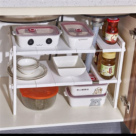 Under-Sink-Adjustable-Shelves
