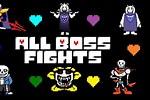 Undertale All Bosses Colored Sprites