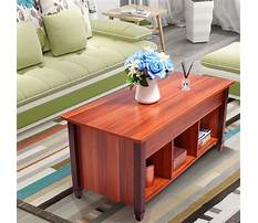 Best Unfinished coffee table with lift top