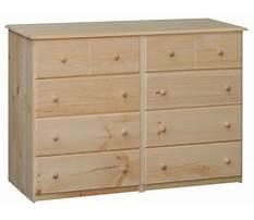 Best Unfinished furniture dresser chest